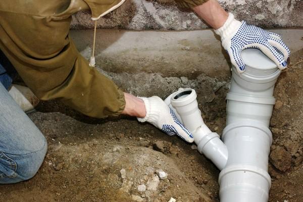 bevroren koperen waterleiding